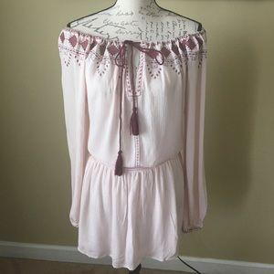 En Creme bohemian dress